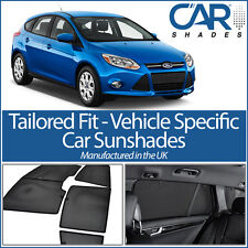 Ford Focus 5 Door 2011 On UV CAR SHADES WINDOW SUN BLINDS PRIVACY GLASS TINT