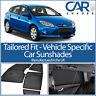 Ford Focus 5 Door 2011-2018 UV CAR SHADES WINDOW SUN BLINDS PRIVACY GLASS TINT