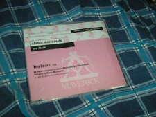CD Pop Alanis Morissette You Learn 1Song promo MAVERICK