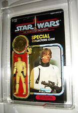Luke Skywalker Stormtrooper Outfit AFA 80 unpunched PotF Last 17 Kenner