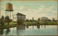 1909 Postcard: Lake Starke/Crapo Park- Burlington, Iowa