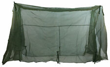 US ARMY MOSQUITO NET BAR MILITARY FIELD NETTING COT COVER OD GREEN TENT