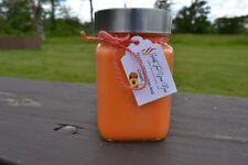 Peaches And Cream Scented Candle 10 oz. Jar