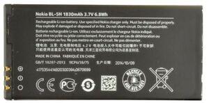 New OEM Nokia BL-5H BL5H Battery For Lumia 630 635 636 638 1830mAh Original