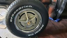 "Mustang Ford Torino ""Rims"" 15 In. & Beauty Rings ,& Cobra CENTERS,19 lugs"