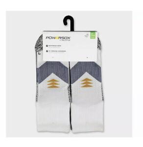 PowerSox by Goldtoe Men's Strategic Cushion Ankle Socks Size 6-12.5 NWT