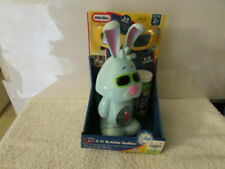 NEW Little Tikes 3-D Bubble Bellies Rabbit Auto Blower,Bubbles Inc NIP BX-12