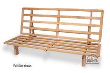 Futon Frame- Solid Wood NEW BI-FOLD Futon Sofa Bed Frame - FULL SIZE