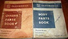 1936 1937 1938-46 47 48 1949 1950 1951 Oldsmobile Chassis & Body Parts Catalogs