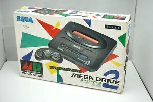Sega Mega Drive 2 console boxed Japan Genesis MD2 system US Seller