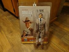 """2013 FIGURES TOY COMPANY--DALLAS THE TV SERIES--12"""" JR EWING FIGURE (NEW)"""