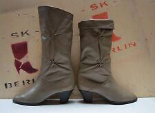 SALAMANDER Normalschaft Damen Stiefel made W.Germany TRUE VINTAGE Boots stivali
