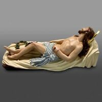 Repose Jesus statue  tabernacle   reliquary   religious church  monstrance