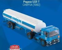 CAMION PEGASO 1231 T CAMPSA CISTERNA - SALVAT 1/43 TRUCK  TRAILER (PE3)