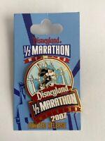 DLR 2007 1/2 Marathon Weekend Logo AP Mickey Mouse Disney Pin LE B