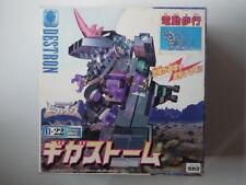 TAKARA Transformers D-22 BEAST WARS DESTRON GIGASTORM NEW SEALED RARE (3)