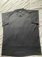 Vintage FOTL Blank Black T-Shirt Sz XL Deadstock Single Stitch 90's EUC
