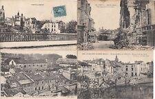 Lot 4 cartes postales anciennes GUERRE 14-18 WW1 VERDUN 16