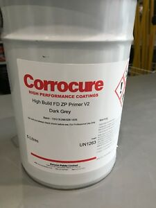 Grey Primer Corrocure High Quality Anti Corrosion Zinc Phosphate Fast Drying 5L