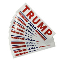 10x For trump 2020 Campaign President Election Decal Die Cut Sticker Car Bumper
