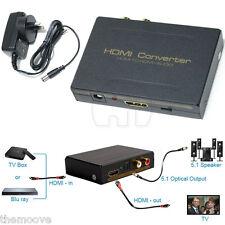 HDMI Converter - HDMI to HDMI + Audio SPDIF Optical RCA L/R Extractor Splitter