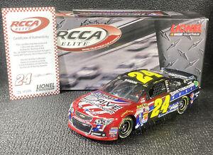 2013 JEFF GORDON 1/24 ELITE NASCAR SALUTES