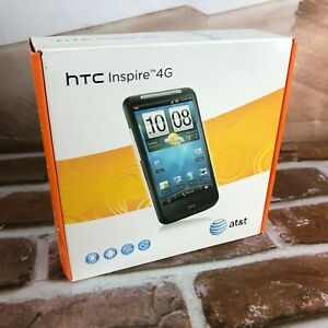 HTC Inspire 4G AT&T 8MP Smartphone android New Black cell phone