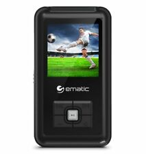 Ematic Em208vid 8 Gb Black Flash Portable Media Player - Photo Viewer, Video