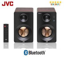 JVC XS-D629BM 60W 2.0 Bluetooth & USB Active Bookshelf Speakers PC Laptop TV
