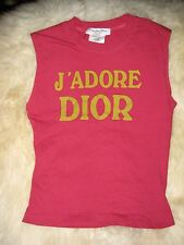 Vintage Authentic Christian Dior J Adore Dior Top 8