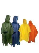 Mantella  Poncho Impermeabile Anti Pioggia Con Cappuccio  3pz