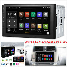 7'' Android 8.0 4G WiFi Double 2Din Car Radio Stereo Gps Navi Multimedia Player (Fits: Dodge Intrepid)