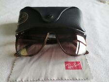 Ray Ban Blaze brown tortoiseshell frame sunglasses. With case. RB 4447-N 710/13.