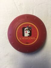 Scattergories Electronic Timer Buzzer Red