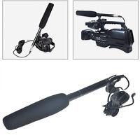 Professional Condenser Shotgun Microphone Mic For DSLR Camera Video Camcorder