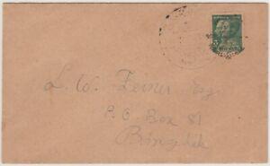 Siam Thailand 1933 Cover Constitution Fair Post Office sent in Bangkok
