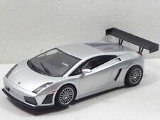 Ninco 1:32 Lamborghini Gallardo Street silber mit LICHT Ref.50448 GUT! (F7483)