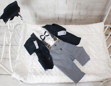 Nr.2 GR.62 Kinderanzug-Festanzug-Babyanzug-Anzug-Taufe-Hochzeit-Taufanzug-Neu