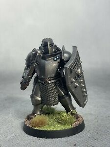 Ogre Knight Steampunk Painted Miniature for D&D or Pathfinder Fantasy RPG