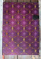 cuaderno paperblanks coleccion SEDA FRANCESA VIOLET GRANDE
