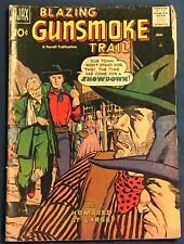 Gunsmoke Trail #4 Jan 1958