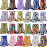 Fashion Women Ladies Chiffon Print Scarf Soft Wrap Long Shawl Scarves Stole