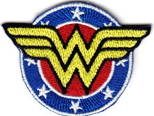 WONDER WOMAN SHIELD Iron On Patch  DC Comics TV Movies