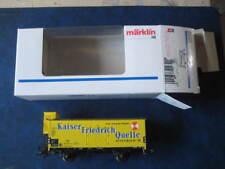 Marklin H0 4890 Kaiser Friedrich Quelle Kuhlwagen in its original box - LNIB