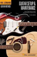 Hal Leonard Guitar Method Guitar Setup & Maintenance Learn to Properly 000697427