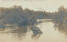 RPPC,Cottonwood River,.MN,Flood of June 24,1908,Used,Flag Cancellation,1908
