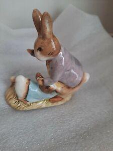 Beswick beatrix potter Mr Benjamin Button & Peter Rabbit