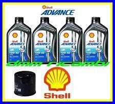 Kit Tagliando DUCATI MONSTER 821 14>15 Filtro Olio SHELL Ultra 4 10W40 2014 2015