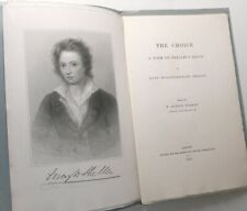 1876 1st MARY SHELLEY The Choice First Edition POEM on PERCY BYSSHE SHELLEY Rare