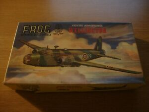 L214 *RARE* 1959 FROG Model Kit 398P - Vickers Armstrong Wellington 1:119